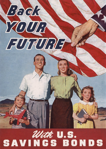 Back Your Future With U.S. Savings Bonds poster