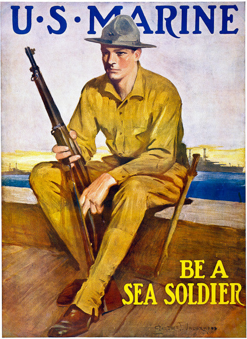 Be a Sea Soldier