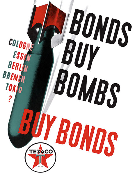 Bonds buy Bombs