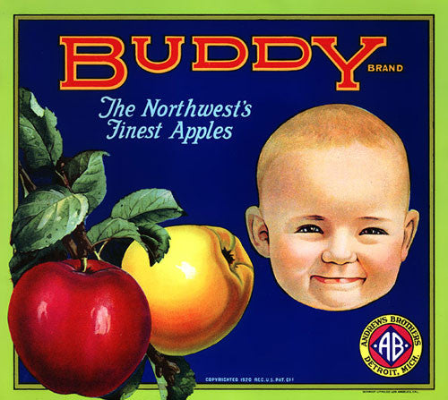 Buddy Brand Apples