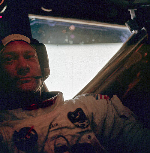 Buzz Aldrin After Moon Walk