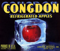 Congdon Refrigerated Apples
