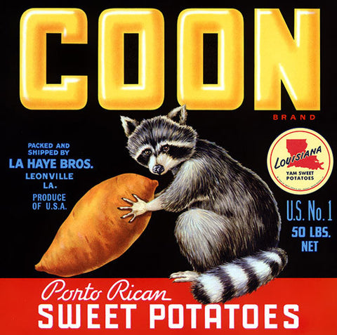 Coon Sweet Potatoes