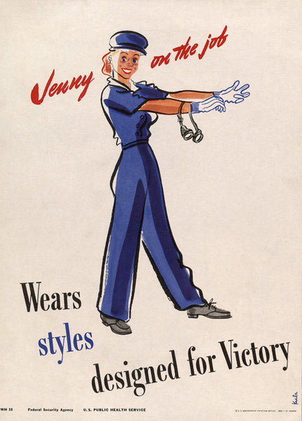 Jenny on the Job Wears Styles Designed for Victory