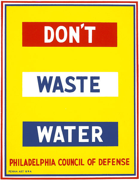 Dont Waste Water