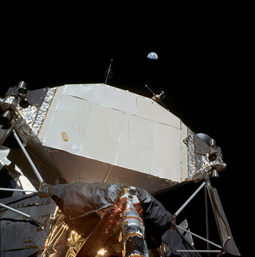 Earth and Lunar Module