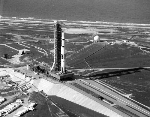 End of Apollo 11 Rollout