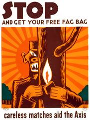 Stop and get your free fag bag