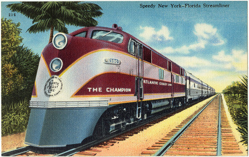 New York to Florida Streamliner