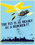 The fly is as deadly as a bomber!!