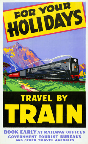 For Your Holidays Travel by Train
