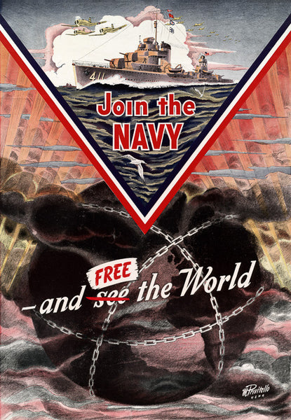 Join the Navy and Free the World