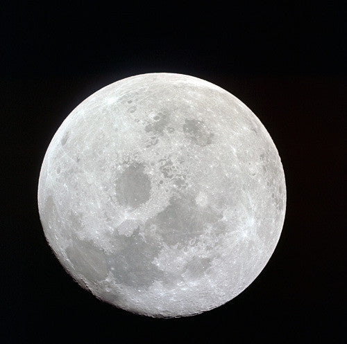 Full View of Moon