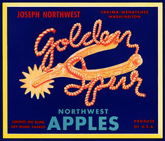 Golden Spur Apples