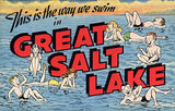 Great Salt Lake Postcard