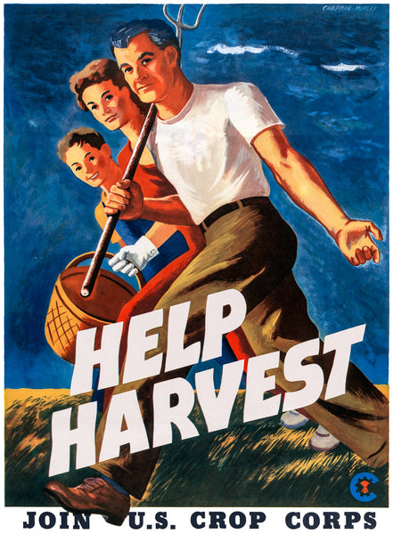 Help Harvest - Join U.S. Crop Corps poster