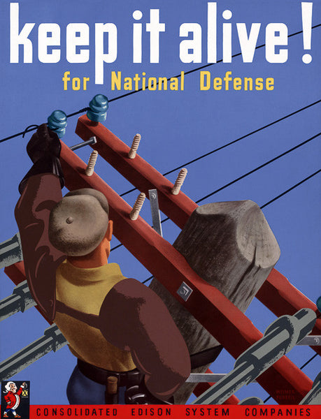 Keep It Alive! For National Defense poster