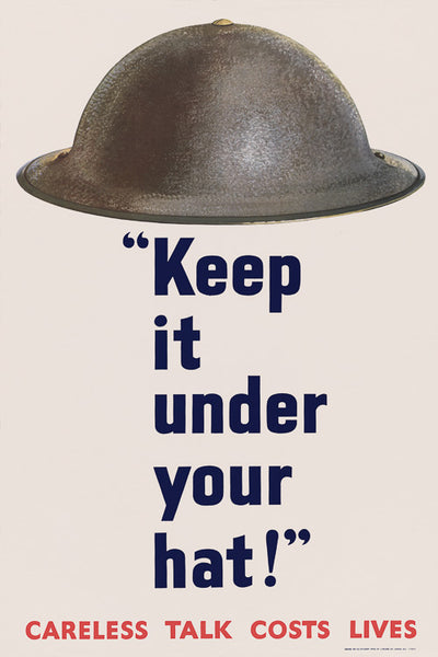 Keep it Under Your Hat