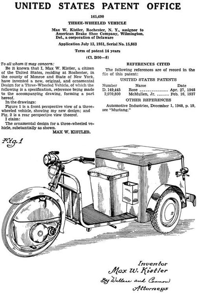 Three-Wheeled Vehicle
