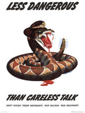 Less Dangerous than Careless Talk
