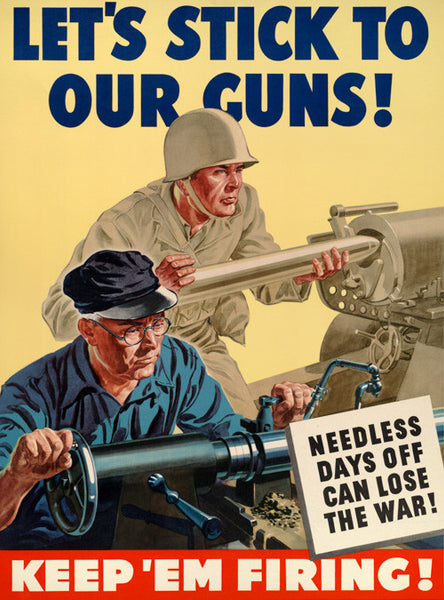 Let's Stick to our Guns!