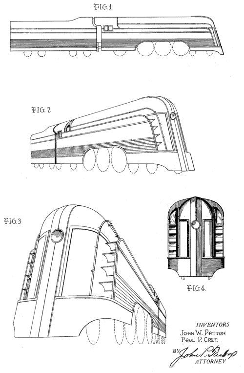 Patton Locomotive and Tender Design
