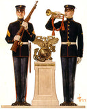 Marines in Dress Uniform