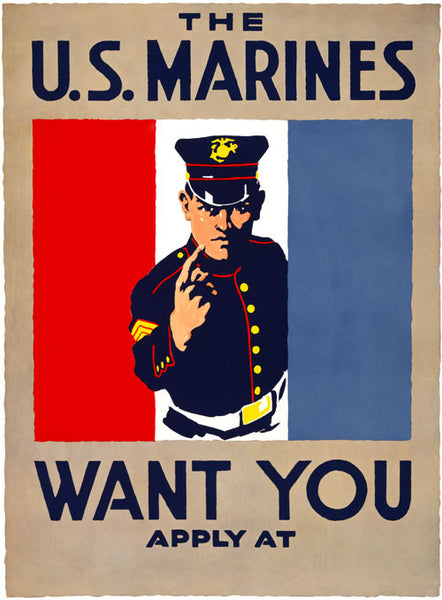 The U S Marines Want You Vintagraph Prints