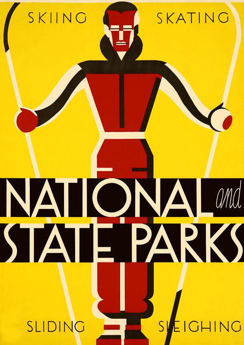 National and State Parks: Skiing, Skating, Sliding, Sleighing