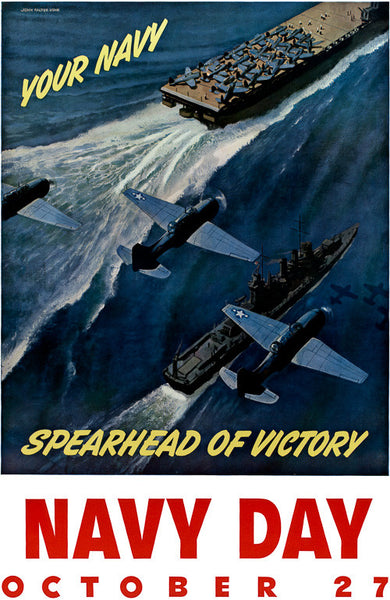 Your Navy: Spearhead of Victory WWII poster