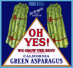 Oh Yes! Asparagus