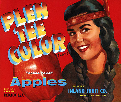 Plen Tee Color Apples