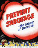 Prevent Sabotage - The Sapper of Defense