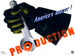 Production: America's answer!
