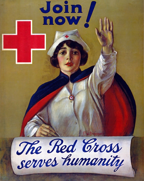 Red Cross Recruiting Poster