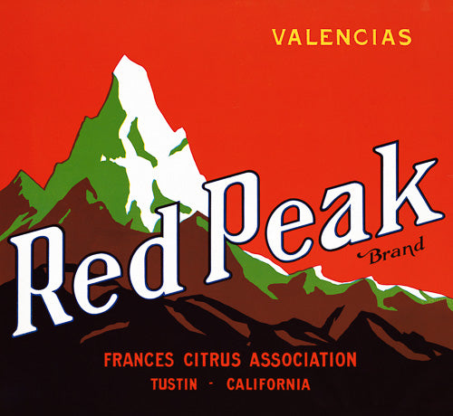 Red Peak Brand Valencias