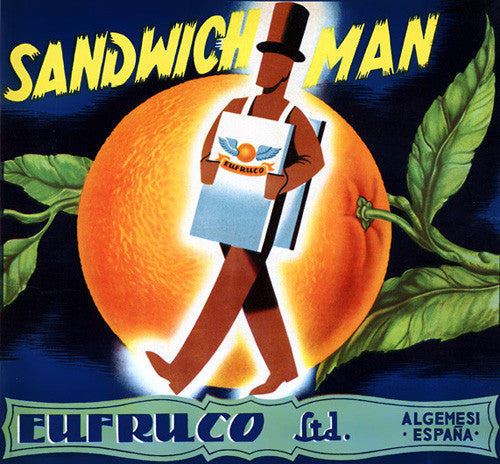 Sandwich Man Oranges
