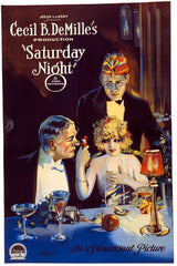 Saturday Night motion picture poster
