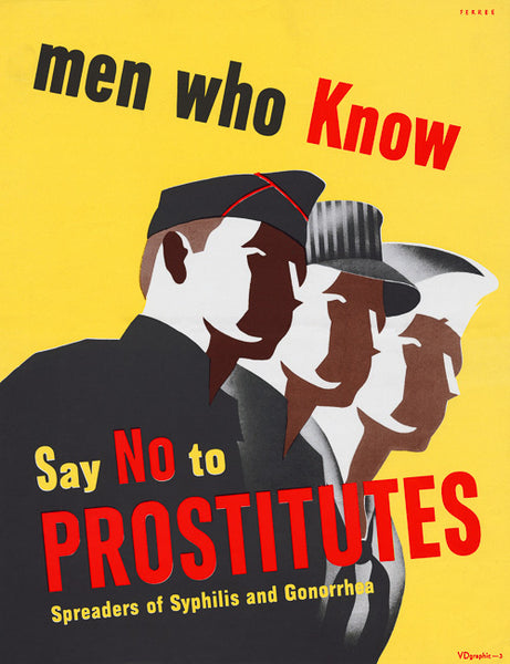 Men Who Know Say No to Prostitutes