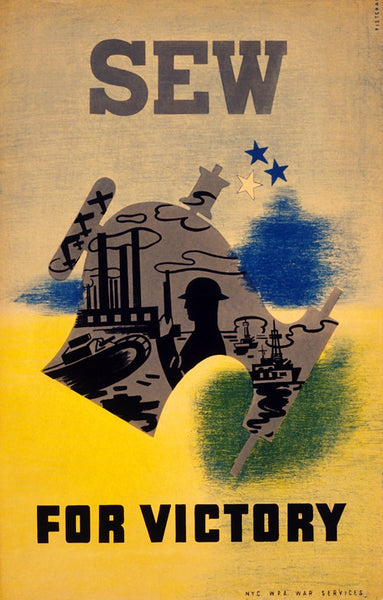Support the War Effort: Sew For Victory