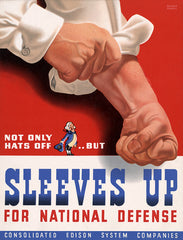 Sleeves Up For National Defense