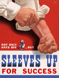 Sleeves Up For Success