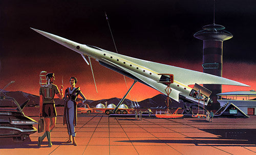 Spaceport Of The Future Vintagraph