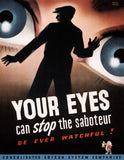 Your Eyes Can Stop the Saboteur