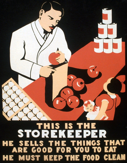This is the Storekeeper
