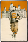 Syracuse Football Poster
