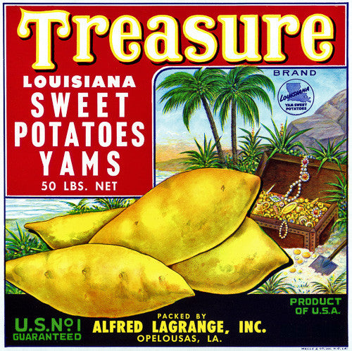 Treasure Louisiana Yams