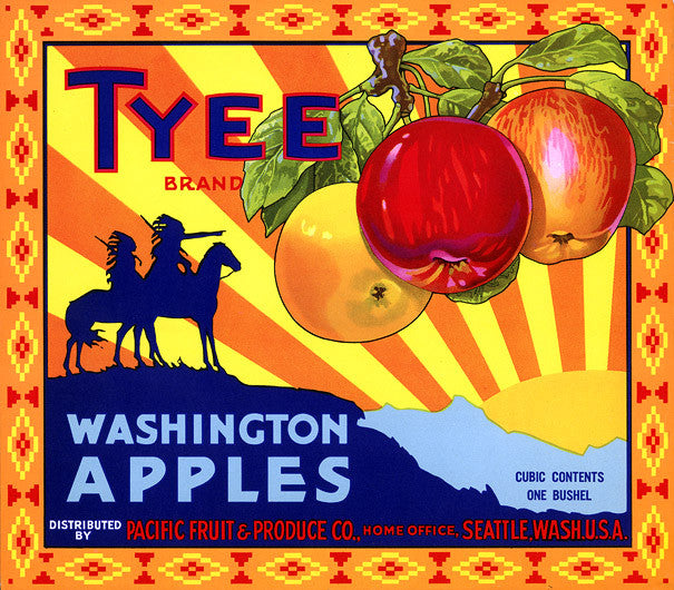 Tyee Brand Washington Apples