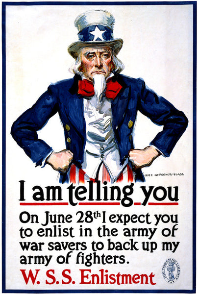 Uncle Sam is Telling You