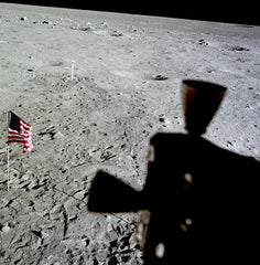 U.S. Flag from Lunar Module